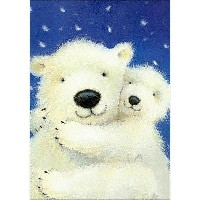 Collection D'Art-White Bearsビーズ絵(ダイヤモンド絵)キット
