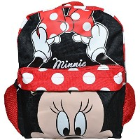 Minne Toddler 12'' Backpack - Big Face [並行輸入品]