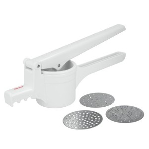 Metaltex USA Inc。Potato Ricer、ホワイト