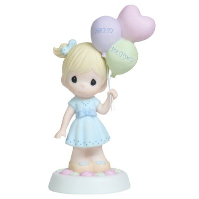 Precious Moments、誕生日ギフト、May Your Birthday Be As特別なas you 。、Bisque Porcelain Figurine, 112010by...