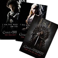 Game of Thrones Poster Set You win or You die (61cm x 91,5cm)