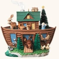 2008 Hallmark Ornament Noah's Ark by Hallmark [並行輸入品]