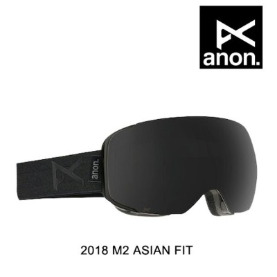 2018 BURTON バートン ANON アノン ゴーグル GOGGLE M2 SMOKE/DARK SMOKE + BLUE LAGOON ASIAN FIT