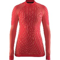 クラフト レディース サイクリング スポーツ Active Intensity CN Long-Sleeve Top - Women's Poppy/Sprint