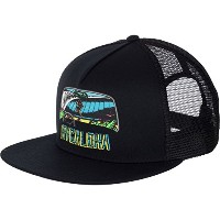 RVCA Aloha Trucker Hat Cap Black キャップ 並行輸入品