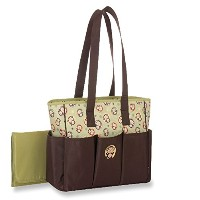 Baby Boom Diaper Bag, Monkey Print by Baby Boom