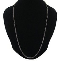 CHROME HEARTS ROLL CHAIN NECKLACE SILVER 18inch クロムハーツ ロールチェーン ネックレス 18インチ
