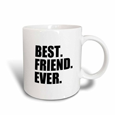 3dローズInspirationzStoreタイポグラフィ–Best Friend Ever–Gifts for BFFs and Good Friends–ユーモア–...