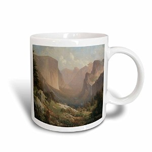 3drose BLN American West Fineアートコレクション–View of Yosemite Valley by Thomas Hill American West–...