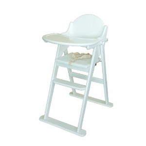 East Coast Folding Highchair – ホワイト
