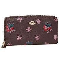 コーチ 財布 アウトレット COACH F15155 IML7C ACCORDION ZIP WALLET IN WILDFLOWER PRINT COATED CANVAS レディース 長財布...