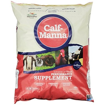 Manna Pro 0093982232 Calf-Manna Ultimate Multi-Species Performance for Animals, 10-Pound by Manna...
