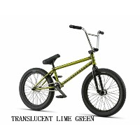 【BMX STREET】【ストリート】【20インチ】WETHEPEOPLE 2018 TRUST FREECOASTER (TRANSLUCENT LIME GREEN)