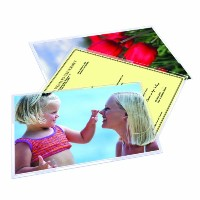 Royal Sovereign Heat Sealed Laminating Pouches 5 Mil Legal Size Clear Gloss (100 Pack) (RF05LEGL0100...