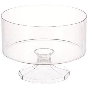 Amscan 1 Count 5-7/8 Plastic Trifle Container, Small, Clear by Amscan