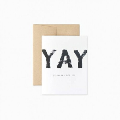 EVERMORE PAPER CO. | YAY SO HAPPY FOR YOU CARD | グリーティングカード
