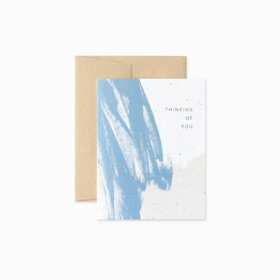EVERMORE PAPER CO. | ABSTRACT THINKING OF YOU CARD | グリーティングカード
