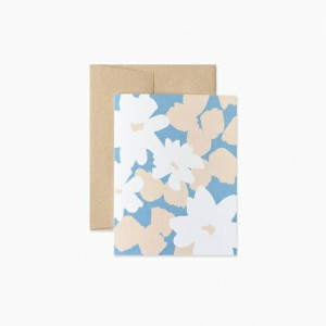 EVERMORE PAPER CO. | FLORAL BLANK CARD | グリーティングカード