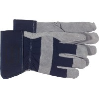 Boss Gloves 4195U Pile Insulated Split Cowhide Leather Palm Glove, Large by Boss Gloves