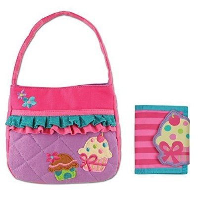 Stephen Joseph Quilted Cupcake Purse and Cupcake Wallet Combo - Gifts for Girls Model: by Toys &...