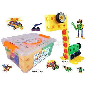 クリエイティブBuilderセット – Building Toys for Boys and Girls 。85 + 5 Bonusピースセットto build your imagination...