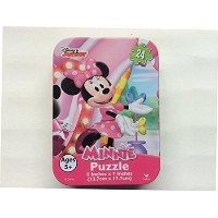 Disney、Nickelodeon、Marvel & More Licensed文字ミニパズルin Tins ピンク LYSB019PI30YU-TOYS