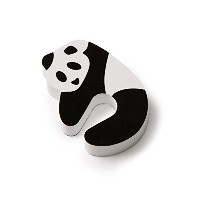 Mommys Helper Panda Door Pinch Guard, Black/White by Mommy's Helper
