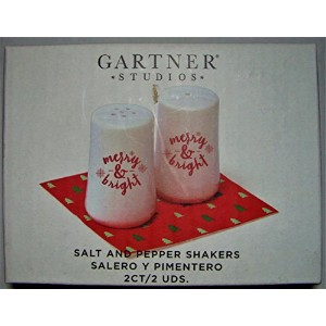 Merry & Bright Salt & Pepper Shaker Set