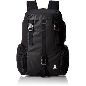[ニクソン] リュックサック WATERLOCK III BACKPACK NC28121148-00 ALL BLACK NYLON ALL BLACK NYLON