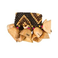 TOCA (トカ) T-WRA Wooden Rattle - Elastic for Ankle ウッド・ラトル パーカッション