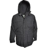 SIERRA DESIGNS (シエラデザインズ) MOUNTAIN PARKA 7910J Black/Black(Blackボタン) XXL