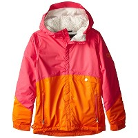 686 15-16 2016 GIRLS Wendy Insulated Jacket ジャケット キッズ スノーウェア S Coral Colorblock
