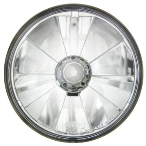 Adjure T50700 5-3/4 Pie Cut Ice Motorcycle Headlight with H4 Bulb by Adjure