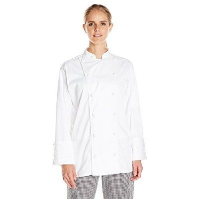 Uncommon Threads 0451EC-2505 Master Chef Coat in White - XLarge