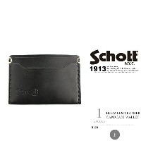 Schott/ショット 公式通販 | ホーウィン レザーカードケース ウォレットHORWEEN LEATHER CARDCASE WALLET【送料無料】