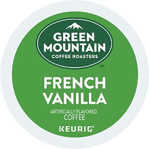 Green Mountain Coffee French Vanilla, K-Cup Portion Pack for Keurig K-Cup Brewers, 24-Count by Green Mountain Coffee