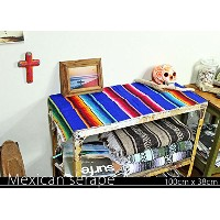 RUG&PIECE Mexican Serape made in mexcico ネイティブ メキシカン サラペ メキシコ製 (rug-5922)