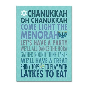 商標FineアートChanukkah by Stephanie Marrott 14x19 ALI7418-C1419GG