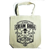 ☆CREAM SODA 50th DLB トートバッグ 『WHITE』 ☆ PINK DRAGON クリームソーダ ☆ JIMMY'S DREAM