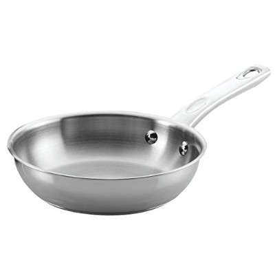 Ayesha Curry Home Collection Stainless Steel Skillet, 22cm