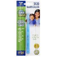 Baby Buddy 360 Toothbrush Step 1 Stage 5 for Babies/Toddlers , Kids Love Them, Blue by Baby Buddy