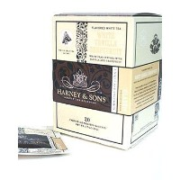 White Vanilla Grapefruit, Box of 20 Wrapped Sachets by Harney & Sons [Foods] [並行輸入品]