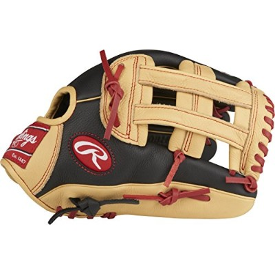 "(Right Hand Throw, 12"", Black/Camel- Bryce Harper Model) - Rawlings Select Pro Lite Youth Baseball..."