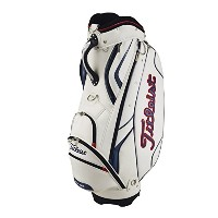 TITLEIST (タイトリスト) Golf Bags ゴルフバッグ (Classic Sports Cart Bag, White)