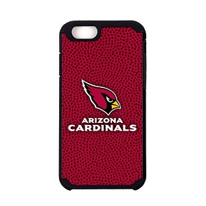 NFL Arizona Cardinals Football Pebble Grain Feel iPhone 6ケース、チームカラー