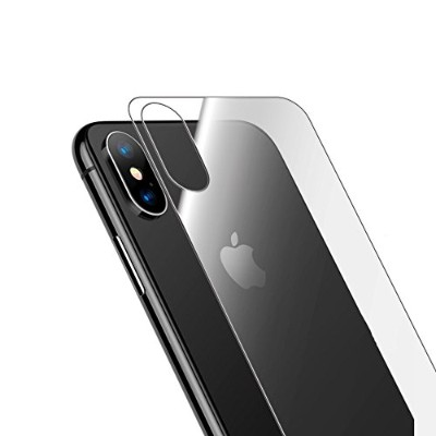 iPhone X 背面 ガラスフィルム 背面保護フィルム フィルム 強化ガラス 日本製素材使用 3D Touch対応 硬度9H 気泡防止 DOLPHIN47 EDGE