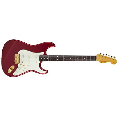 Fender エレキギター MIJ Traditional '60s Stratocaster® with Gold Hardware, Rosewood, Candy Apple Red