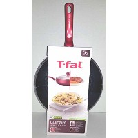 t-fal culinaire 5 Qt。CoveredジャンボFry Pan (レッド)