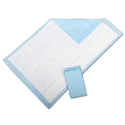 TRUE Clean Disposable Underpads 23x26 50/pack Count Blue - Large Multipurpose - For Elderly, Pets...