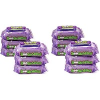 Boogie Wipes Natural Saline Kids and Baby Nose Wipes for Cold and Flu, Grape Scent, 30 Count by...